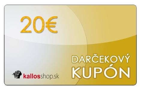 Obrázok pre Darčekový kupón v hodnote 20 € 31a7213f04d